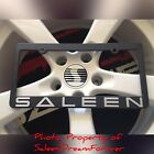 ORIGINAL SALEEN LICENSE PLATE FRAME FOX BODY FORD MUSTANG S281 S351 302 SHELBY