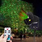 Waterproof Outdoor Xmas R&G Lawn Garden Laser Projector Moving Stage LED Light