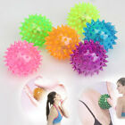 Flashing Light Up Spikey High Bouncing Balls Hedgehog Ball Toy Gift Hot Sale