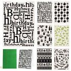 Christmas Birthday Gift Plastic Embossing Folders for DIE Paper Craft Unique ED