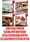 Personalised Photo Xmas/Christmas Cards•Folded Postcard•Free Delivery 24DESIGNS