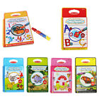 Water Drawing Book Coloring Book Doodle Magic Pen Animals Painting Education Toy