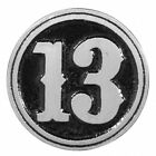 Thirteen Pewter Pin