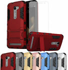 ShockProof Hybrid Protective Phone Case Cover + Tempered Glass Screen Protector