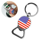 New US American Flag Beer Bottle Opener Key Chain Keyring Creative Small Gift