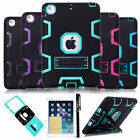 Shockproof Heavy Duty w/Stand Hybrid Hard Case Cover For iPad Mini Air iPad Pro