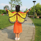Kids Butterfly Belly Fairy Angel Dance Wings Colorful Toddler Child New Costume
