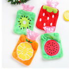 Sale Fruit Print Student Kid Hand Warmer Hot Water Bottle Covers Bag Handbag