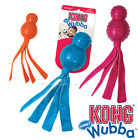 KONG WUBBA COMET XL Fetch Flappy Floppy Tails Squeaker Tug Toss Durable Dog Toy