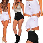 Women Casual High Waisted Short Mini Jeans Ripped Jeans Shorts Pants Sexy xxf