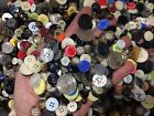 Внешний вид - New lots of 100 Buttons assorted mixed  bulk wholesale 1/4 inch to 3/4 in.