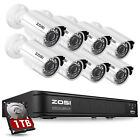 Внешний вид - ZOSI HDMI 8CH 720P CCTV IR Outdoor Security Camera DVR Night Vision Home System