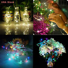 US 20M 200 LED Waterproof Solar String Copper Wire Fairy Light Christmas Lamp