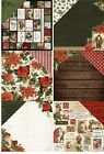 """Kaisercraft Letters To Santa 1x Double-Sided Cardstock 12""""X12"""" 30,5x30,5 cm"""