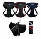 No Pull Padded Comfort Mesh Dog Walking Harness for Small and Medium Dogs