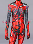 Red Carnage Gwen Spidergirl Cosplay Costume Spiderman Costume For Female Women