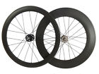 50mm+88mm Clincher Tubular Wheelset 1680g Novatec 165/166 Hub Carbon Wheels