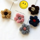 Fashion Wool Fabric Flower Brooches Pin Corsage Women Clothes Accessories Gift