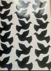 18 Dove Shaped Stickers, lots of colours, decoration or wedding invitations