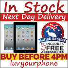 Apple iPad 2 16 32 64GB Black White WiFi +Cellular Aussie Model