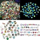 50Pcs Lot Mix Floating Charm For Glass Living Memory Colorful Locket Gift New image