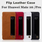 For Huawei Mate 10 /Pro Leather View Window Smart Case Shell Flip Cover Sleep