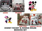 Disney MICKEY MINNIE MOUSE Double Queen Size Duvet Quilt Cover Bedding Set image