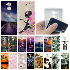 For Huawei P Smart/Nova Smart Shockproof Soft Silicone Painted Back Case Cover