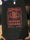 HELLS ANGELS NOMADS INDIANA SUPPORT T SHIRT