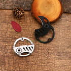 Outdoor Mini Folding Knife Key Chain Bottle Opener Defense Survival Tools KB-5