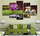 Relax Flower Stone Spa Painting 5 Pcs Canvas Print Wall Art Home Decor 8 samples