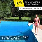 Solar Swimming Pool Cover Blanket Multi Size 500 Micron Blue Save 15%