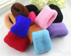 3PCs Women Vogue Beauty High Elastic Hair Ring Hairband Towel Random Gift