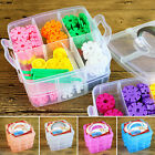 HOME Plastic Beads Jewellery Storage Organiser 18 Compartment Tools Box Case New