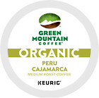 Green Mountain Coffee Organic Peru Cajamarca Coffee Keurig 2.0 K-Cups Unusual NEW