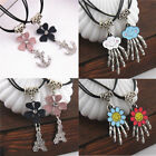 Fashion Women Tower Anchor Hand Pendant Necklace For Lovers Couples Jewelry