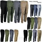 Mens Twill Jogger Pants Casual Urban Trousers Harem Active Hip Hop Slim Fit New
