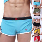HOT MENS SHEER SWIM SHORTS MESH SWIMMING SHORT 6 COLOURS Boxer Briefs BREATHABLE