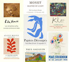 ART GALLERY EXHIBITION POSTERS: Matisse, Picasso, Bacon, Chagall, Klee Prints