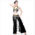 Professional Belly Dance Costumes Bra+Hip Belt 2pcs set Performance Outfits #832