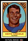 1967 Topps #15 Keith Lincoln Bills EX $5.25 USD