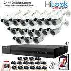16CH CCTV Full HD DVR 1080P 2.4MP Night Vision Camera Home Security System Kit