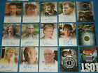 Wanton / HEROES / CSI Ltd Edition Autograph & Show Worn Costume Cards. CULT TV