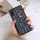 Square Rubber Bumper Bling Bling Fashion cover Case for iPhone X 7 8 6 6s Plus