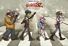 GORILLAZ MUSIC BAND GMB10 A3 A4 POSTER PRINT ART BUY 2 GET 1 FREE