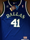 Dirk Nowitzki Dallas Mavericks Throwback Jersey 41 Classic Vintage