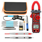60W Adjustable Temperature Welding Solder Soldering Iron UA2008D Multimeter Tool