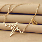 New Hot Women Medical Doctor Nurse Heart Pendant Clavicle Chain Necklace
