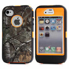 For iPhone 4 4s Heavy Duty Defender Protective Case Cover with Belt Clip Holster