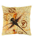 "Indian Pillow Case Bird Digital Print Home Décor Throw Cotton Cushion Cover 16""1"